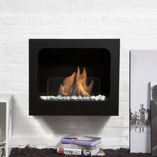 Fireplaces & Accessories Colombus Wall Mount Ethanol Fireplace