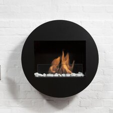 Fireplaces & Accessories Qwara Wall Mount Ethanol Fireplace