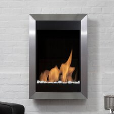 Fireplaces & Accessories Square II Vertical Wall Mount Ethanol Fireplace