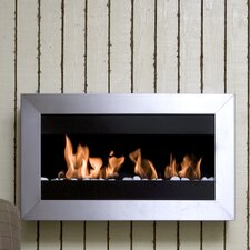 Square II Wall Mount Ethanol Fireplace