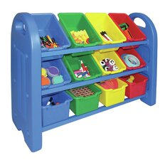 3 Tier Toy Organizer 12 Compartment Cubby