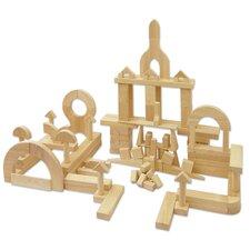 340 Piece Hardwood Building Block Set