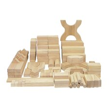 170 Piece Hardwood Building Block Set