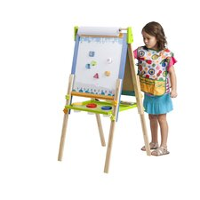 Folding Marker Tray Magnetic Double Sided Board Easel