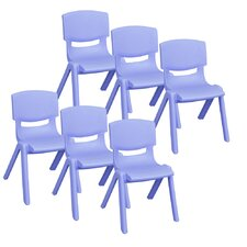 Resin Kids Desk Chair (Set of 6)