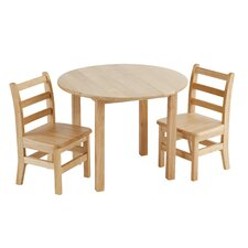 3 Piece Round Activity Table