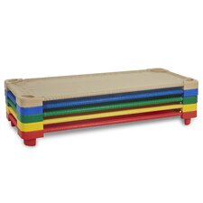Standard Stackable Ready-To-Assemble Kiddie Cot (Set of 5)