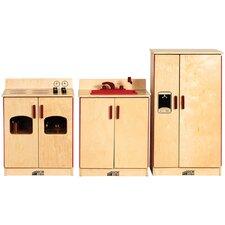 Birch 3-Piece Play Kitchen Set