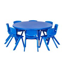 9 Piece Round Activity Table & Chair Set