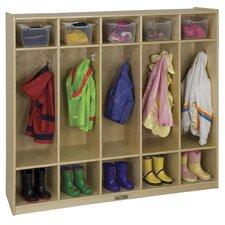 5-Section Coat Locker