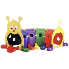 """Gus"" Four Section Climb-n-Crawl Caterpillar Tunnel Playground"