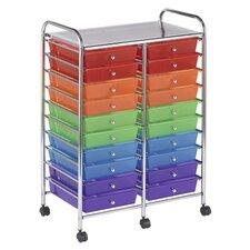20-Drawer Storage Chest