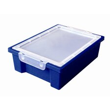 Small Storage Bin with Clear Lid (Set of 6)