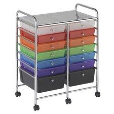 14-Drawer Storage Chest