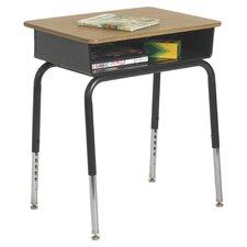 Laminate Adjustable Height Open Front Desk (Set of 2)