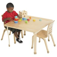"30"" Square Bentwood Play Table"