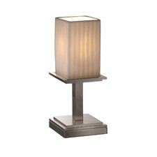 """Limoges Montana Portable 12.75"""" H Table Lamp with Rectangular Shade"""