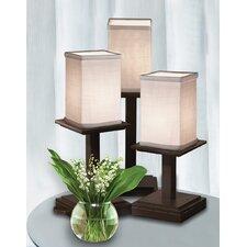 """Textile Montana 3 Piece 16.75"""" H Bedside Table Lamp Set"""