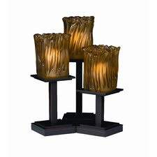 """Montana Veneto Luce 16.75"""" H Table Lamp with Oval Shade (Set of 3)"""