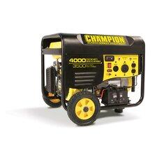 4000 Watt Portable Gasoline Generator with Wireless Remote