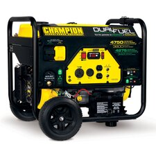 4750 Watt CARB Portable Dual Fuel Generator
