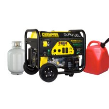 9375 Watt CARB Portable Dual Fuel Generator