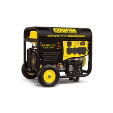 9375 Watt Portable Gasoline Generator with Wireless Remote