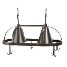 Oval Dutch Lighted Pot Rack