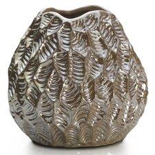 Quartz Lustre Gourd Leaf Vase