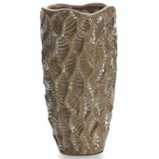 Quartz Lustre Leaf Vase