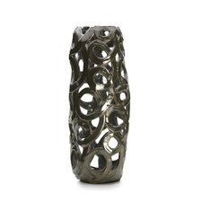 Iron Luster Tall Loop Vase