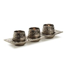 Metallic Ore Votive Tray
