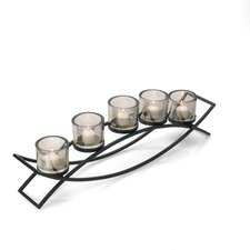 5-Light Double Arch Linear Candlebra