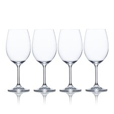 Laura White Wine Glass (Set of 4)