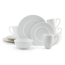 Ortley 16 Piece Dinnerware Set (Set of 2)
