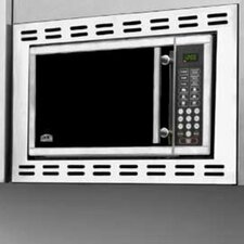 0.9 Cu. Ft. 900W Built-In Microwave in Stainless Steel