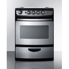 3 Cu. Ft. Electric Range in Stainless Steel