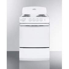 3 Cu. Ft. Electric Range in White