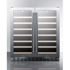 70 Bottles Dual Zone Freestanding Wine Refrigerator