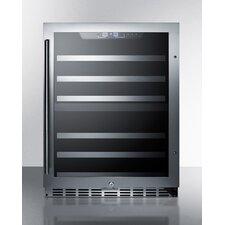 16 Bottle Dual Zone Freestanding Wine Refrigerator