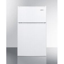 3 cu. ft. Compact Refrigerator with Cycle Defrost and Zero Degree Freezer