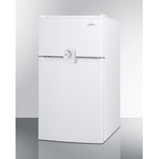 2.9 cu. ft. Compact Refrigerator with Combination Lock