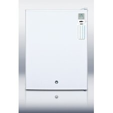 2.4 cu. ft. Compact Refrigerator with Temperature Alarm
