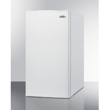 2.93 cu. ft. Compact Refrigerator with Manual Defrost and Door Storage