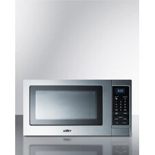 0.9 Cu. Ft. 900 W Countertop Microwave with Digital Touch Controls
