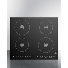 """23"""" Electric Induction with 4 Burners"""