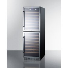 118 Bottle Dual Zone Convertible Wine Refrigerator