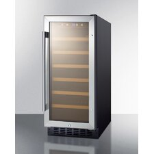 33 Bottle Single Zone Convertible Wine Refrigerator