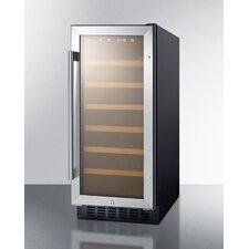 33 Bottle Single Zone Convertible Wine Refrigerator