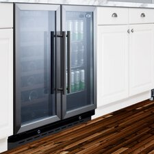 33 Bottle Dual Zone Convertible Wine Refrigerator